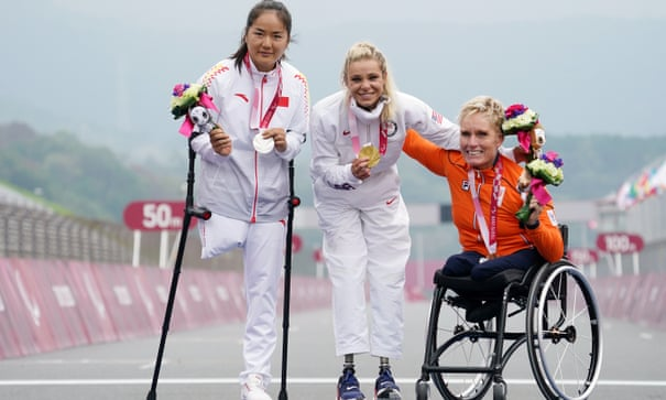 Oksana Masters becomes Summer and Winter Paralympic champion with cycling gold